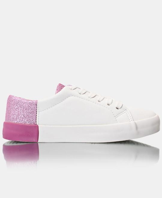 TOMTOM Ladies Casual Sneakers - White