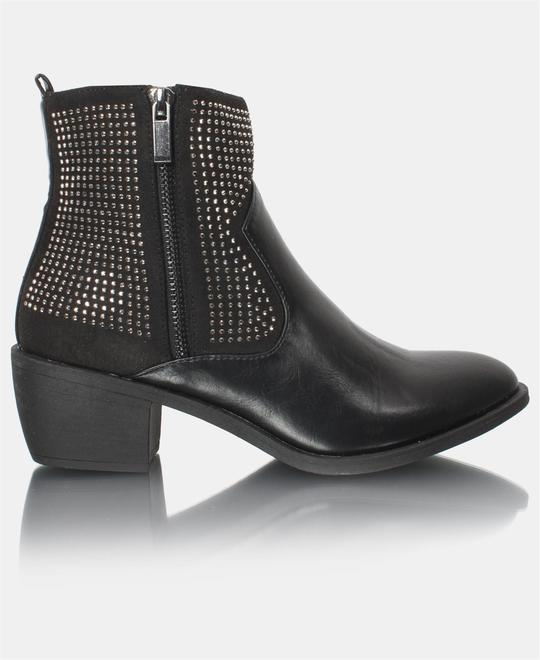 URBAN STYLE Ankle Boots - Black