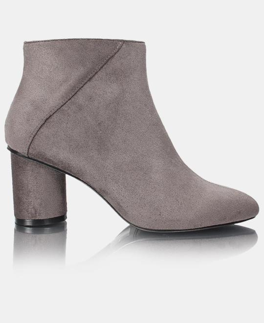 URBAN STYLE Ladies Ankle BootS - Grey