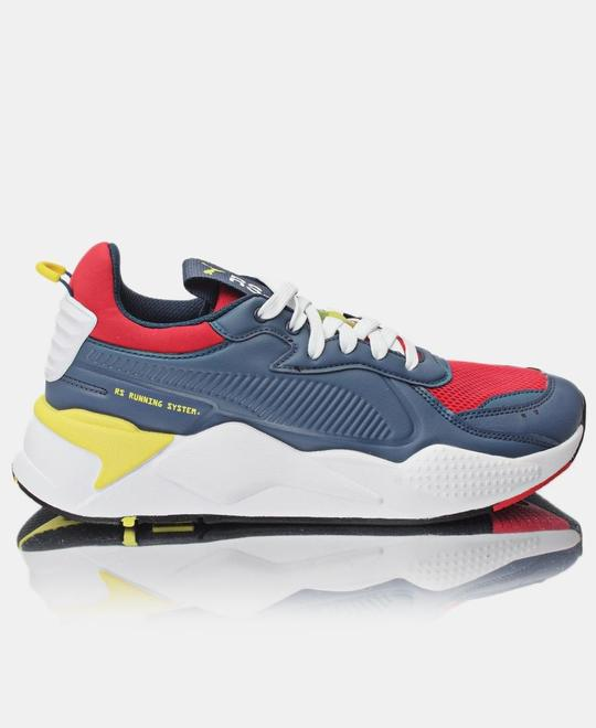 Puma Mens RS-X Master Sneakers - Navy